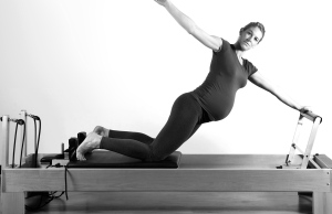 prenatal pilates up stretch